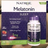 [NATROL] MELATONIN SLEEP 5mg (250 viên)